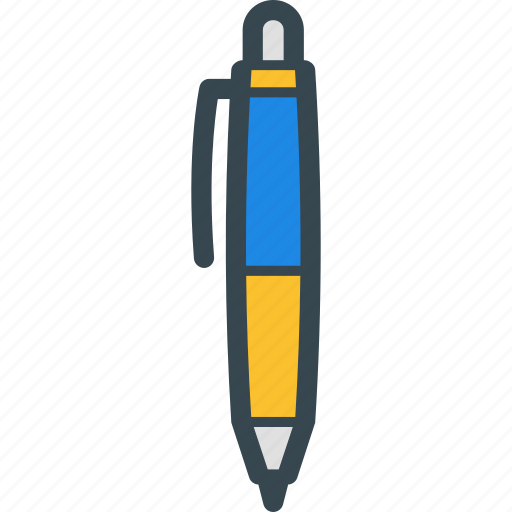 Ballpoint, document, pen, write, writing icon - Download on Iconfinder