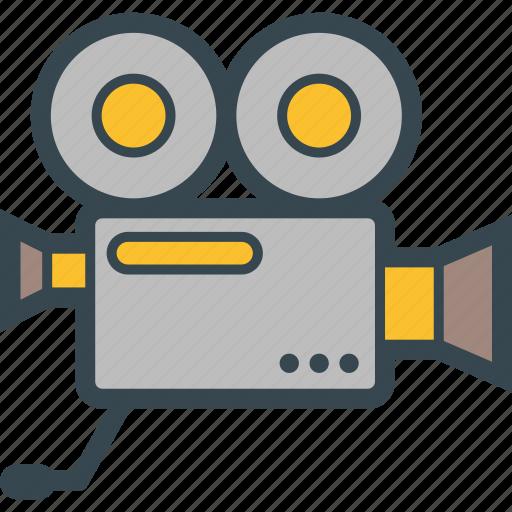 camera, cine, cinema, film, record icon