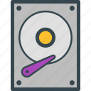 data, disk, drive, hard, save, storage icon