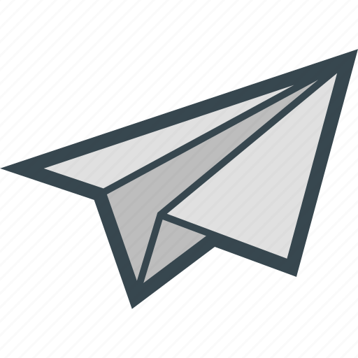 deliver, email, mail, paper, plane, send icon