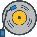 devices, dj, music, turntable, vynil icon