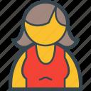 girl, woman, avatar, female, user
