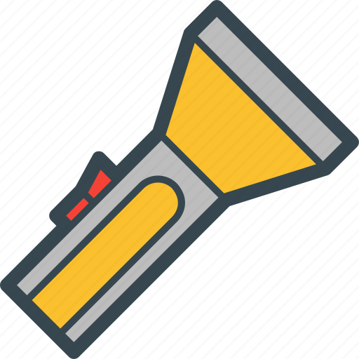 Bright, flashlight, lamp, light, torch icon - Download on Iconfinder