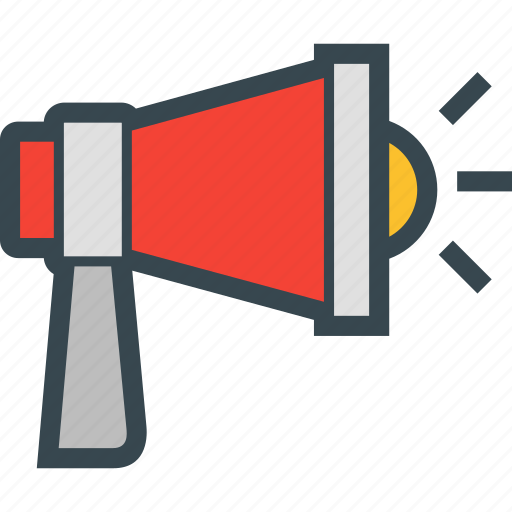 loud, marketing, megaphone, sound, speaker icon