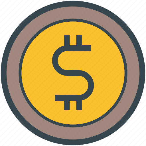 Coin, currency, dollar, finance, money icon - Download on Iconfinder