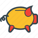 bank, money, piggy, save, savings icon