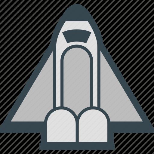 rocket, shuttle, space, spacecraft, spaceship icon