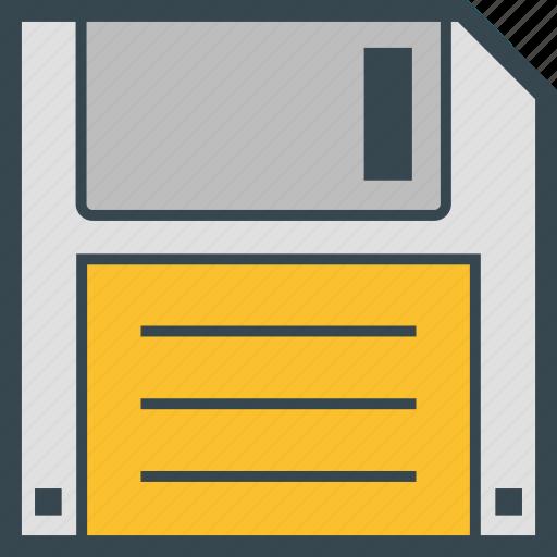 disk, diskette, floppy, save, storage icon