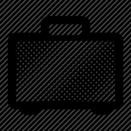 briefcase, case, office, paperwork, portfolio, suitcase icon