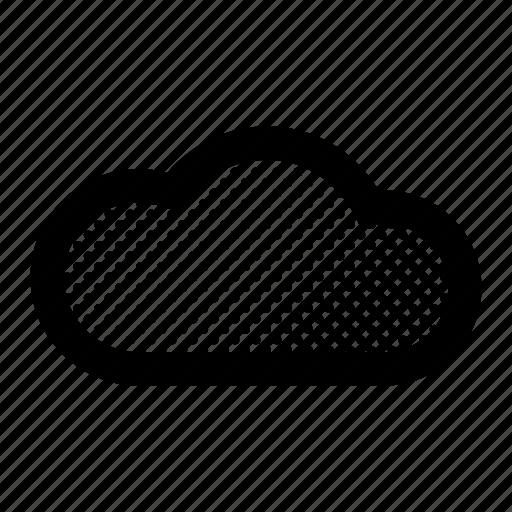 Data, storage, cloud, computing icon