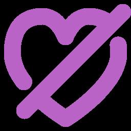 appreciate, disabled, feelings, heart, like, love icon