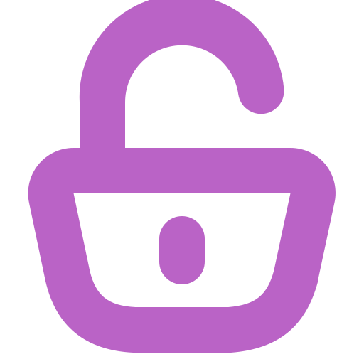 blocked, data, information, padlock, security, unlocked icon