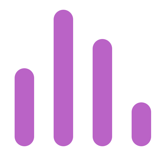 bars, curve, diagram, graph, rating icon