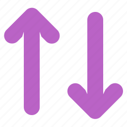 arrow, data, down, files, synchronization, up icon