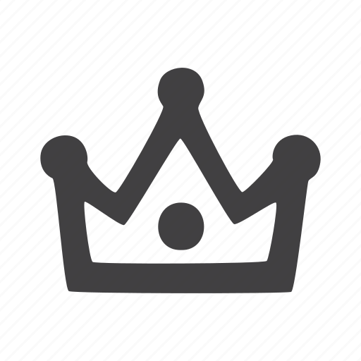 award, crown, king icon