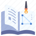 book, knowledge, learning, magazine, paper, read, study icon