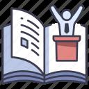 book, government, law, paper, political, politics icon