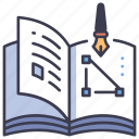 book, education, learning, magazine, paper, read, study icon