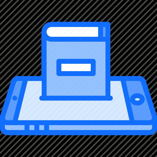 app, application, book, literature, phone, reading, shop icon