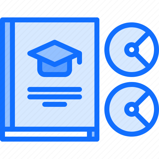 book, disk, education, literature, reading, shop, textbook icon