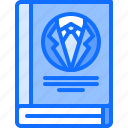 book, business, genre, literature, reading, shop icon