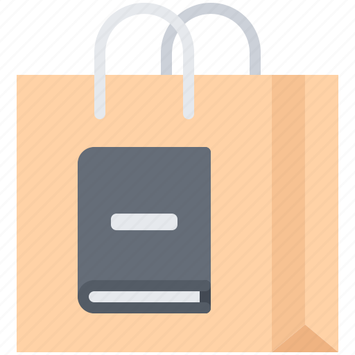 book, literature, package, purchase, reading, shop icon