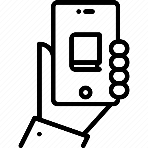 app, book, hand, literature, phone, reading, shop icon