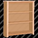 book, bookcase, bookshelf, clothes, equipment, furniture, wardrobe