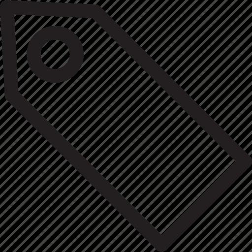 bookmark, label, price, shop, store, tag icon