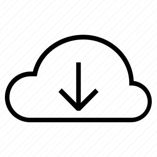 arrow, bookmark, cloud, down, download, process, upload icon