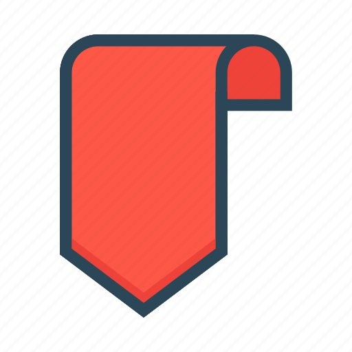 Book, bookmark, label, ribbon, tag icon - Download on Iconfinder