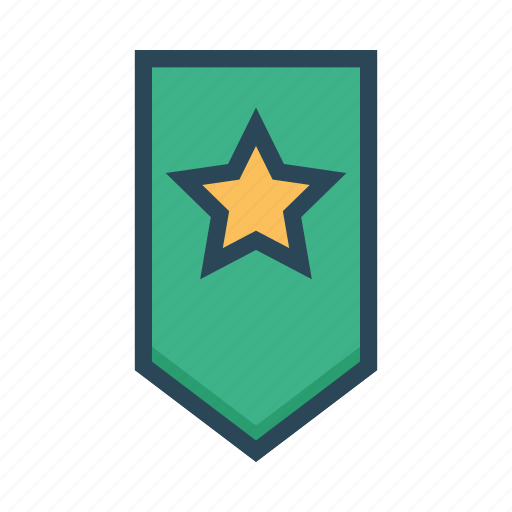 Bookmark, favorite, ribbon, star, tag icon - Download on Iconfinder