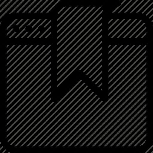 bookmark, favourite, mark, preference, site icon