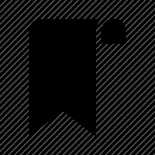 bookmark, favorite, label, ribbon, tag icon