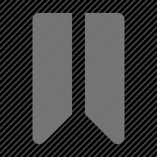 bookmark, tag icon