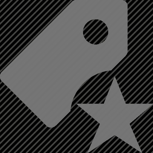 favorite, star, tag icon