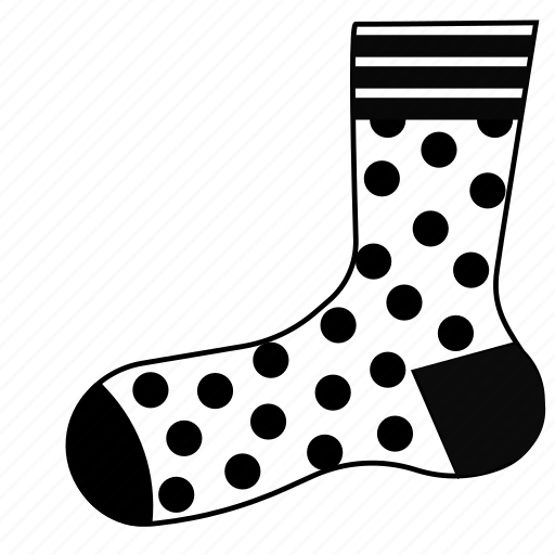 clothes, footwear, sock, socks, stocking, stockings icon