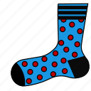 clothes, footwear, sneakers, sock, socks, stockings icon