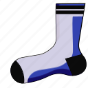 clothes, footwear, sock, socks, stockings, winter icon