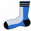 clothing, sock, socks, stocking, stockings, winter icon