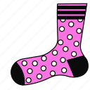 clothes, clothing, sock, socks, stockings, woman icon