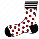 christmas, clothing, sock, socks, stocking, stockings icon