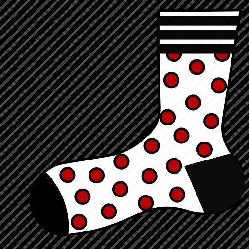 christmas, clothing, sock, socks, stocking, stockings icon