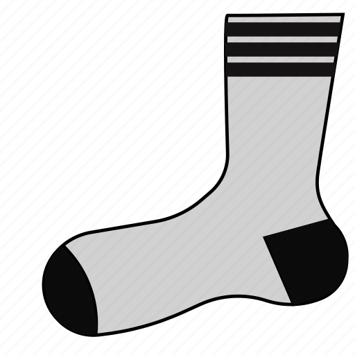 accessories, clothes, clothing, sock, socks, stockings icon