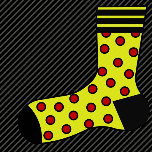 dock, footwear, sneakers, sock, socks, stocking, stockings icon