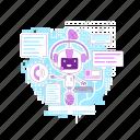 bot, chatbot, talk, assistant, ai, smartphone