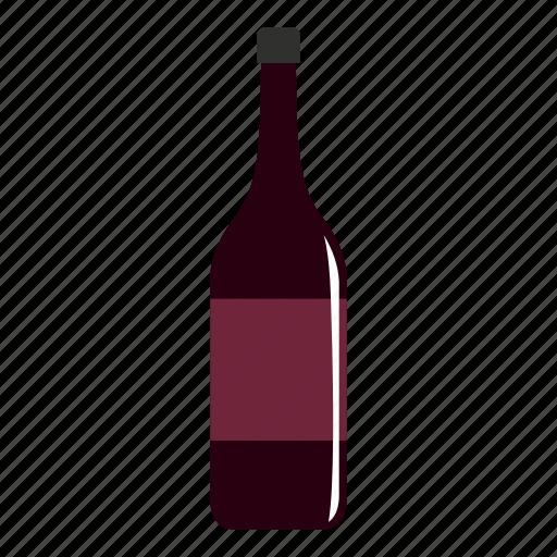 alcohol, bar, beverage, bottle, drink, glass, wine bottle icon