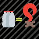 bottle, burn, fire, plastic icon