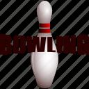 bowling, bowling pin, pin icon