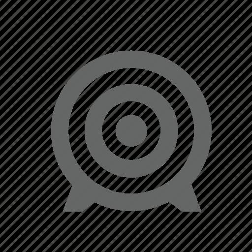 aim, archery, bow, circle, scoring, sports, target icon